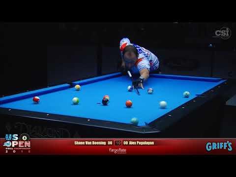 UNBELIEVABLE FINISH | Shane Van Boening vs Alex Pagulayan | 2018 US Open 8-Ball Championship Final