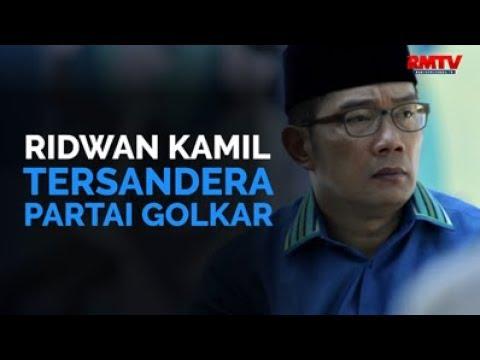 Ridwan Kamil Tersandera Partai Golkar