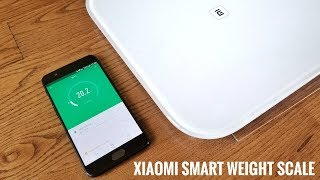 Find the Xiaomi Smart Scale on Gearbest: http://bit.ly/2tavMwI -                                                                                                       This is a quick overview of the Xiaomi Smart Weight Scale. This can be used as a regular scale or a smart scale connected to your smartphone. It can measure in KG or LBS.