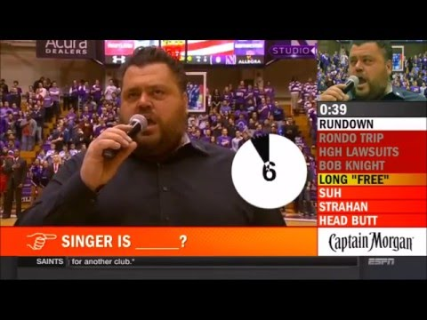 WATCH: Singer Holds 23 Second Note During the National Anthem