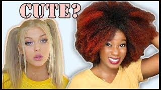 "Video I TRIED A WHITE GIRL'S ""FAVORITE HAIRSTYLES"" [Loren Gray] MP3, 3GP, MP4, WEBM, AVI, FLV November 2018"