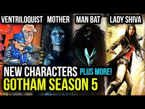 The NEW Villains Coming To Gotham Season 5 & Character Theories Breakdown!
