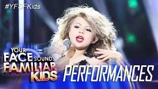 Your Face Sounds Familiar Kids: Xia Vigor as Taylor Swift - You Belong With Me