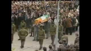 Bobby Sands Funeral Original Footage