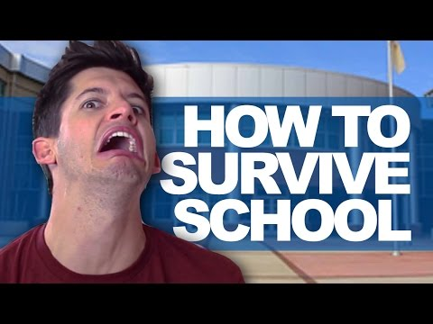 3. - School is scary, but it doesn't have to be if you follow these steps! ✖ 3 SIGNS HE'S OVER YOU - http://bit.ly/YWxyCQ ✖ TWEET ME! - http://bit.ly/tweetdearhunter Sincerely, Hunter March...
