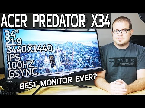 Acer Predator X34: The Perfect G-SYNC Monitor?