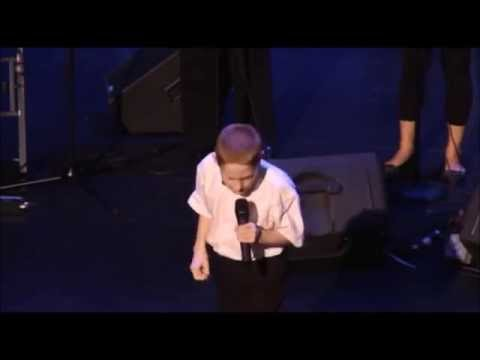 A 10 Year-Old Blind Autistic Boy Singing.