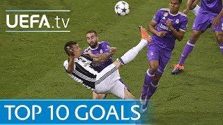 Download Video UEFA Champions League 2016/17 - Top ten goals MP3 3GP MP4