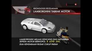 Video Inilah Kronologis Kecelakaan Mobil Lamborghini Dan Sepeda Motor Di Jakarta - iNews Petang 07/09 MP3, 3GP, MP4, WEBM, AVI, FLV Februari 2018