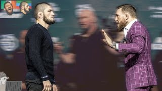 Video Body Language Analysis McGregor vs Khabib Faceoff MP3, 3GP, MP4, WEBM, AVI, FLV Februari 2019