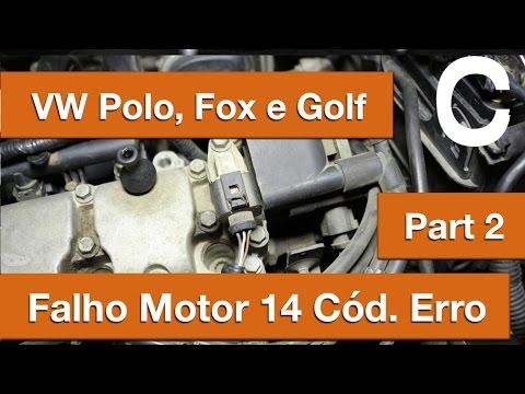 Dr CARRO VW Polo 1.6 Flex Falhando - 14 Códigos de Erro - Part2