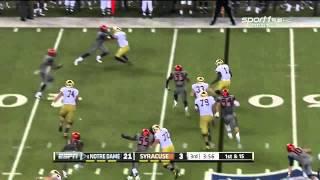 Durell Eskridge vs Notre Dame (2014)