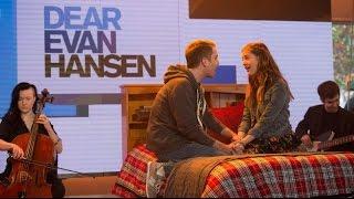 Video Ben Platt and Laura Dreyfuss perform 'Only Us' from 'Dear Evan Hansen' on TODAY MP3, 3GP, MP4, WEBM, AVI, FLV Agustus 2018