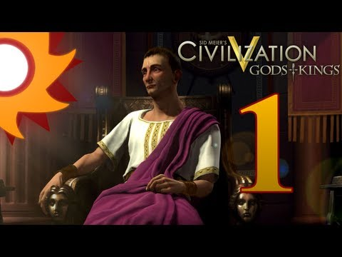 Civilization V Gods and Kings as Rome - Episode 1 ...The Birth of an Empire...