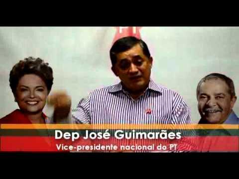 Acopiara: Deputado José Guimarães pede voto para Robinho Almeida