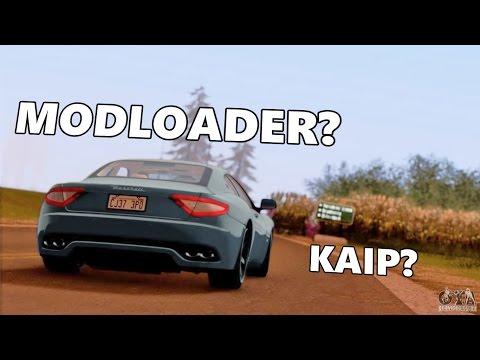GTA SA 'Modloader'