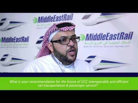 Interview with Saudi Railway Company (SAR) at Middle East Rail 2017