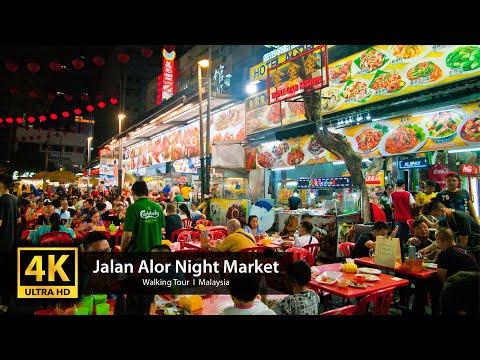 Malaysian Street Food Market |The Ultimate Jalan Alor Night Market in Bukit Bintang, KL
