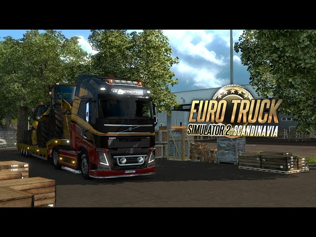 euro truck simulator 2 road trip across scandinavia. Black Bedroom Furniture Sets. Home Design Ideas