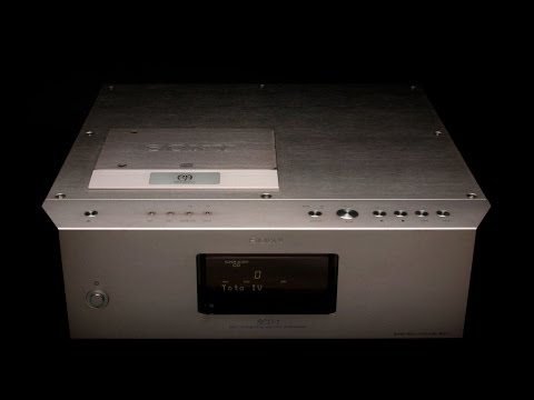 Sony SCD-1 high end SACD / CD player weighs 26 Kg!