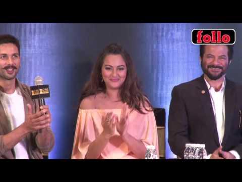 Anil Kapoor, Shahid Kapoor, Sonakshi Sinha, Kriti Sanon at ZEE Cine Aw...
