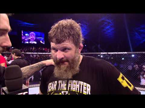 Fight Night Abu Dhabi%3A Roy Nelson Octagon Interview
