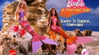 Nonton 2010 Barbie In A Mermaid Tale Swim  N Dance Mermaid Barbie Dolls Commercial Film Subtitle Indonesia Streaming Movie Download