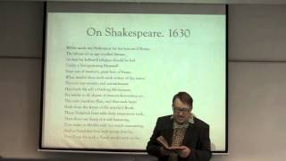 Kevin McNeilly   ENGL 220 005 (Lecture On John Milton's