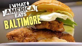Chicken Sandwiches in Baltimore | What America Eats