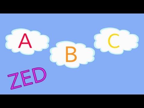 Limba engleza pentru copii - Alfabetul din nori