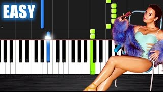 Demi Lovato - Cool for the Summer - EASY Piano Tutorial Ноты и М�Д� (MIDI) можем выслать Вам (Sheet