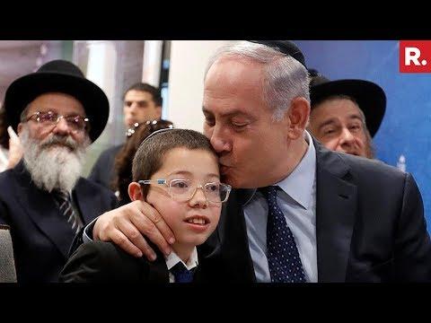 Israeli PM Benjamin Netanyahu Meets 'Baby Moshe' At Nariman House
