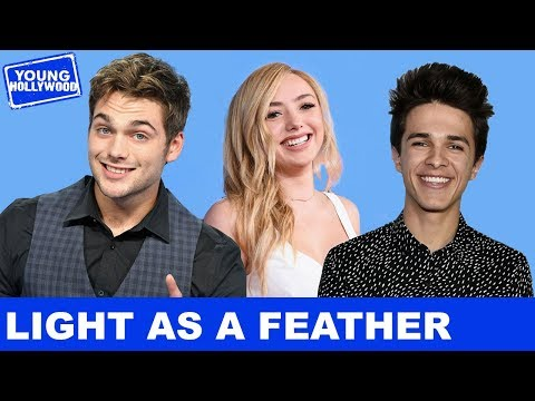Behind the Scenes With Peyton List & Cast on Set of Light as a Feather!
