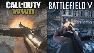 Battlefield V vs Call of Duty: WWII   Direct Comparison
