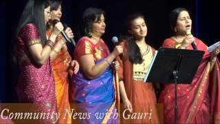 Community News with Gauri (part 3) includes Raaga Rang