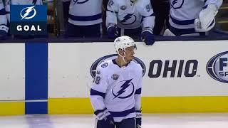 Первые голы Сергачева в НХЛ