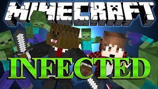 HALLOWEEN EDITION Minecraft Infected (Spooky) Minigame w/ BajanCanadian