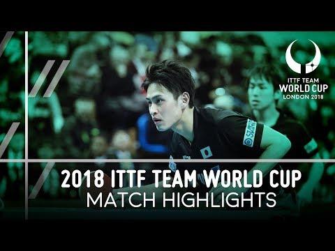 2018 Team World Cup Highlights I Koki Niwa/Yuya Oshima vs Ahmed Saleh/Mohamed El-Beiali (Group) (видео)