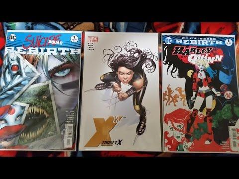 ALL HARLEY & X-23 COMIC BOOK HAUL