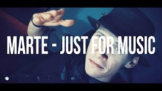 MARTE - Just For Music ( Official Video )