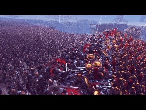 300 Spartans VS 20,000 Persians REMATCH (Spartans Hold Ground) - Ultimate Epic Battle Simulator