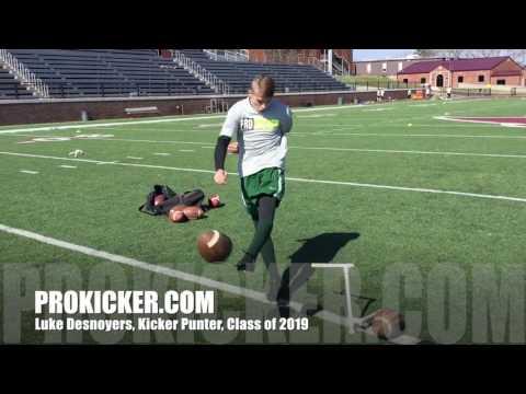 Luke DesNoyers, Ray Guy Prokicker.com Kicker Punter, Class of 2019