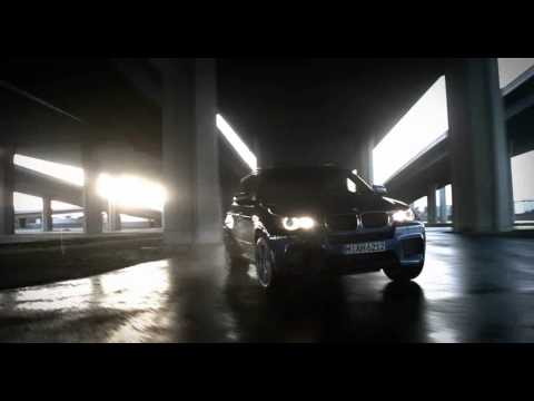 BMW X6 M and BMW X5 M in motion