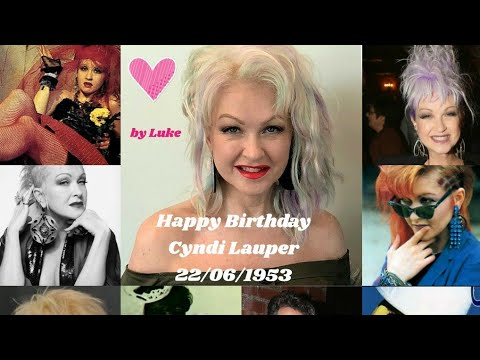 22/06/2020 - Voice and video messages: Happy Birthday from the fan club for Cyndi Lauper ❤️ by RFL