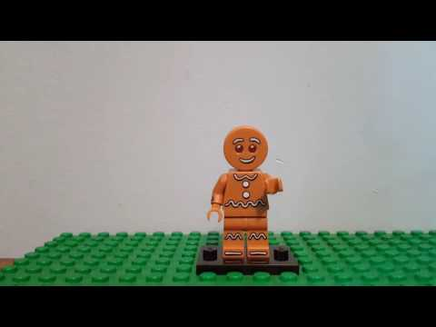 Lego gingerbread man review