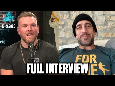 Pat McAfee & Aaron Rodgers Talk Jordan Love's Development, Ancient Aliens, And More