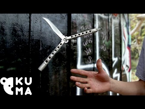 Don't Look Away from These Butterfly Knife Tricks
