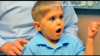 MIRACLE!! Deaf Boy Hears Father's Voice For The First Time!!!