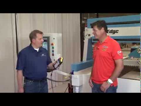 Michael Waltrip Racing Cuts 1,000 Parts with Jet Edge Waterjets