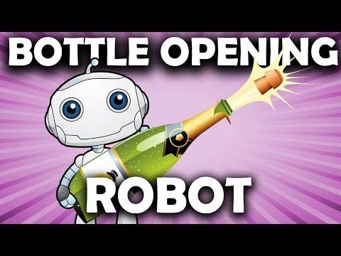 Automatic Bottle Opening Robot
